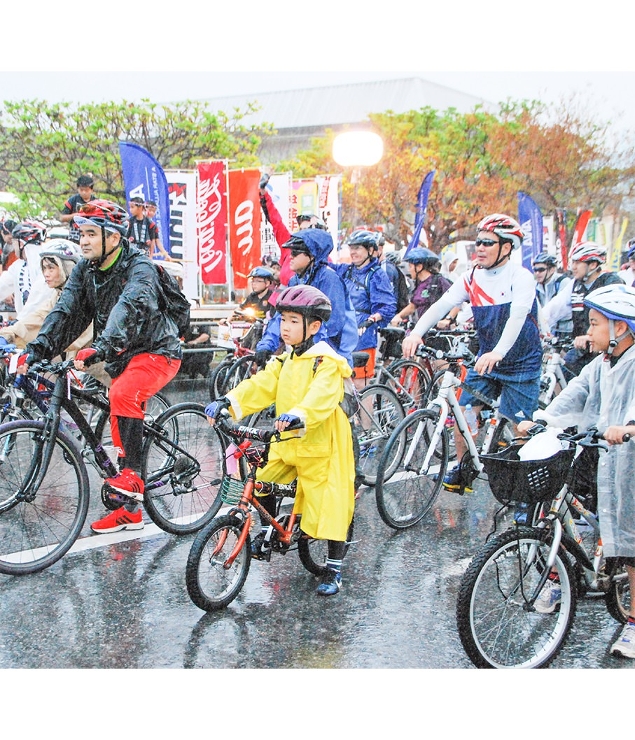 Onna Village Family Cycling Course 70km